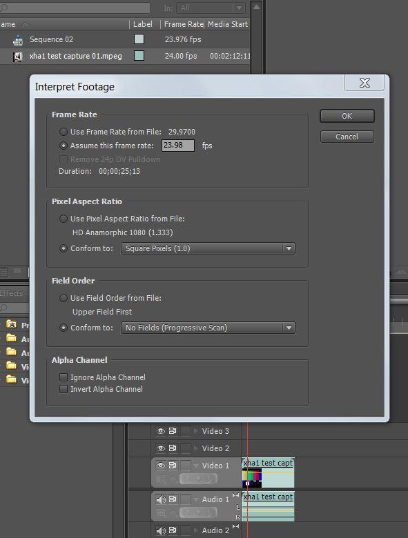 how to change aspect ratio premiere pro mobile