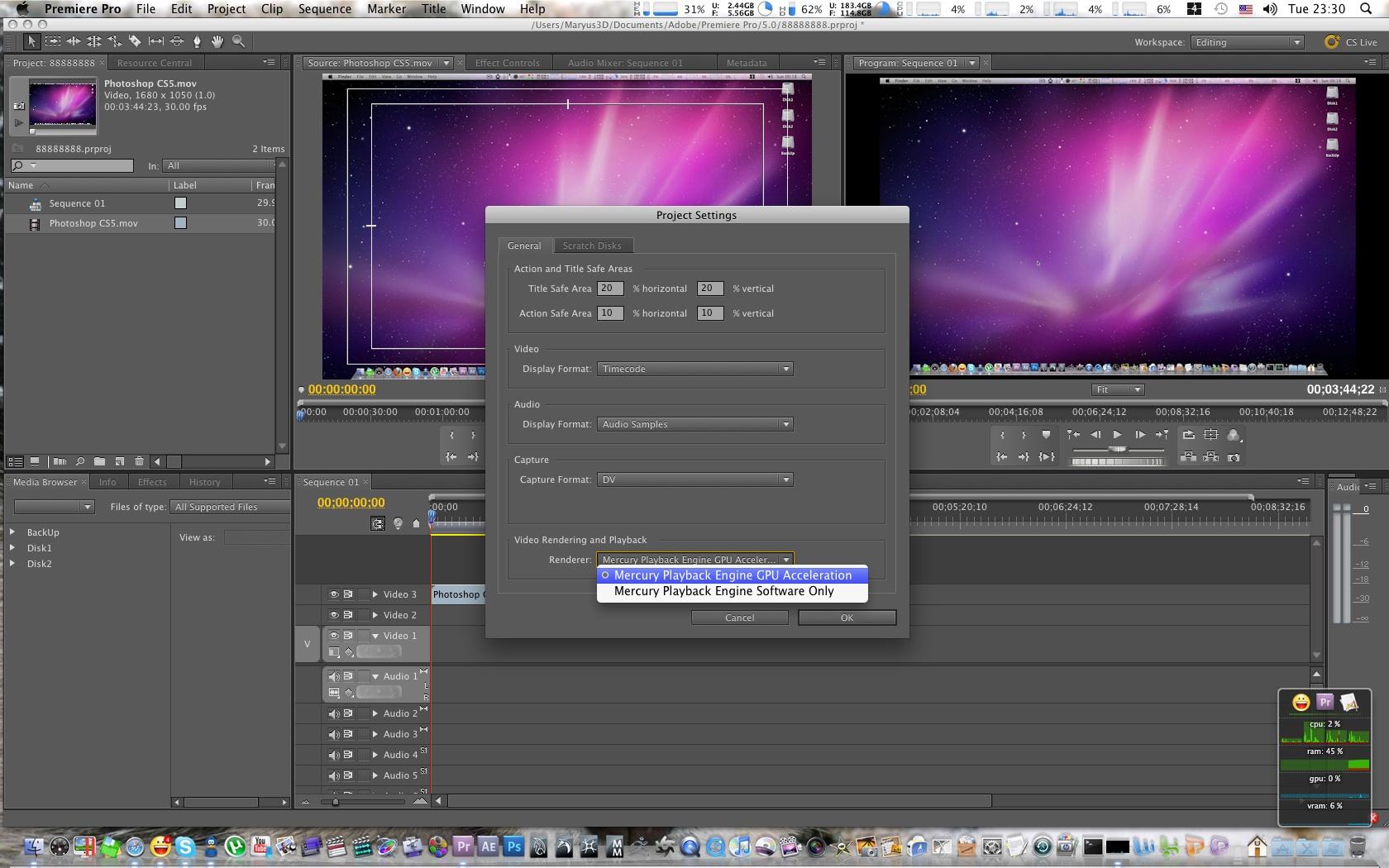 Adobe Premiere Pro Audio Limiter