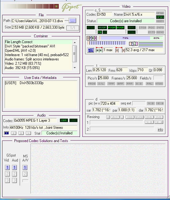 Media encoder settings to play on Sony Bravia (via USB) at