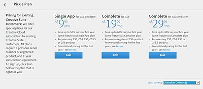 It's not Creative Suite anymore... news from Adobe-cc-oz-pricing.jpg