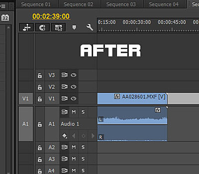 Premiere Pro CC - How to get 2 separate channels on timeline-after.jpg