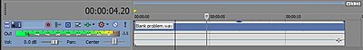Azden FMX-DSLR left channel issue-timeline.jpg