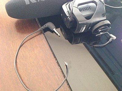 Rode Videomic Pro wire snapped-photo-1.jpg