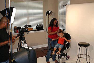 Using a BOOM MIC to record instructional hair styling video?-img_2369.jpg