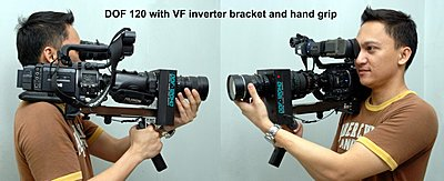Inverted the HD100 VF for use with lens adapter-dof-120-vf-inverter-handgrip.jpeg