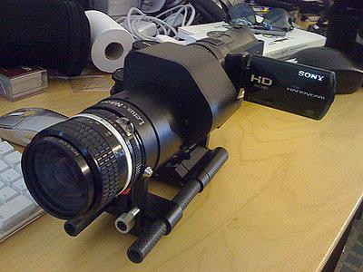 """Sony HDR-CX7 + Letus Mini """"AK47"""" Setup.-2470299418_98409d56df.jpg"""