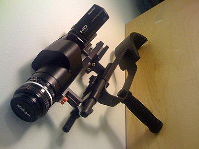 """Sony HDR-CX7 + Letus Mini """"AK47"""" Setup.-2470407044_68e12500e2.jpg"""
