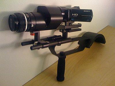"""Sony HDR-CX7 + Letus Mini """"AK47"""" Setup.-2469581251_9106e58c07.jpg"""