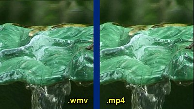 .wmv and H.264-fountain-comparison.jpg