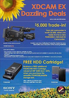 Sony Australia - XDCAM EX DAZZLING DEAL-sony_pmw350_promo_may10.jpg