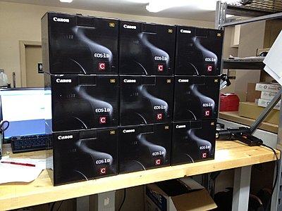 Canon EOS-1D C 4K Cameras Shipping Tomorrow Jan 3-mess-load-canon-eos-1dc-cameras.jpg