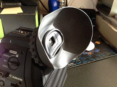 Canon C100  Zacuto Eyecup for Viewfinder-c100-zfinder-eyecup-side.jpg