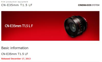 Canon 35MM T1.5 Cinema Prime 00 ETA Dec 2013-canon-35mm-cinema-prime-japan-december-17-2013-texas-media-systems-1dc.png