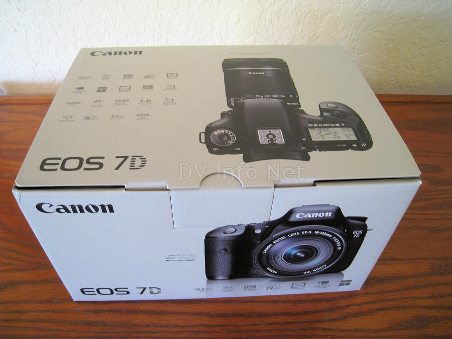 Eos 7d Operators Manual Body Only Box Check Images At