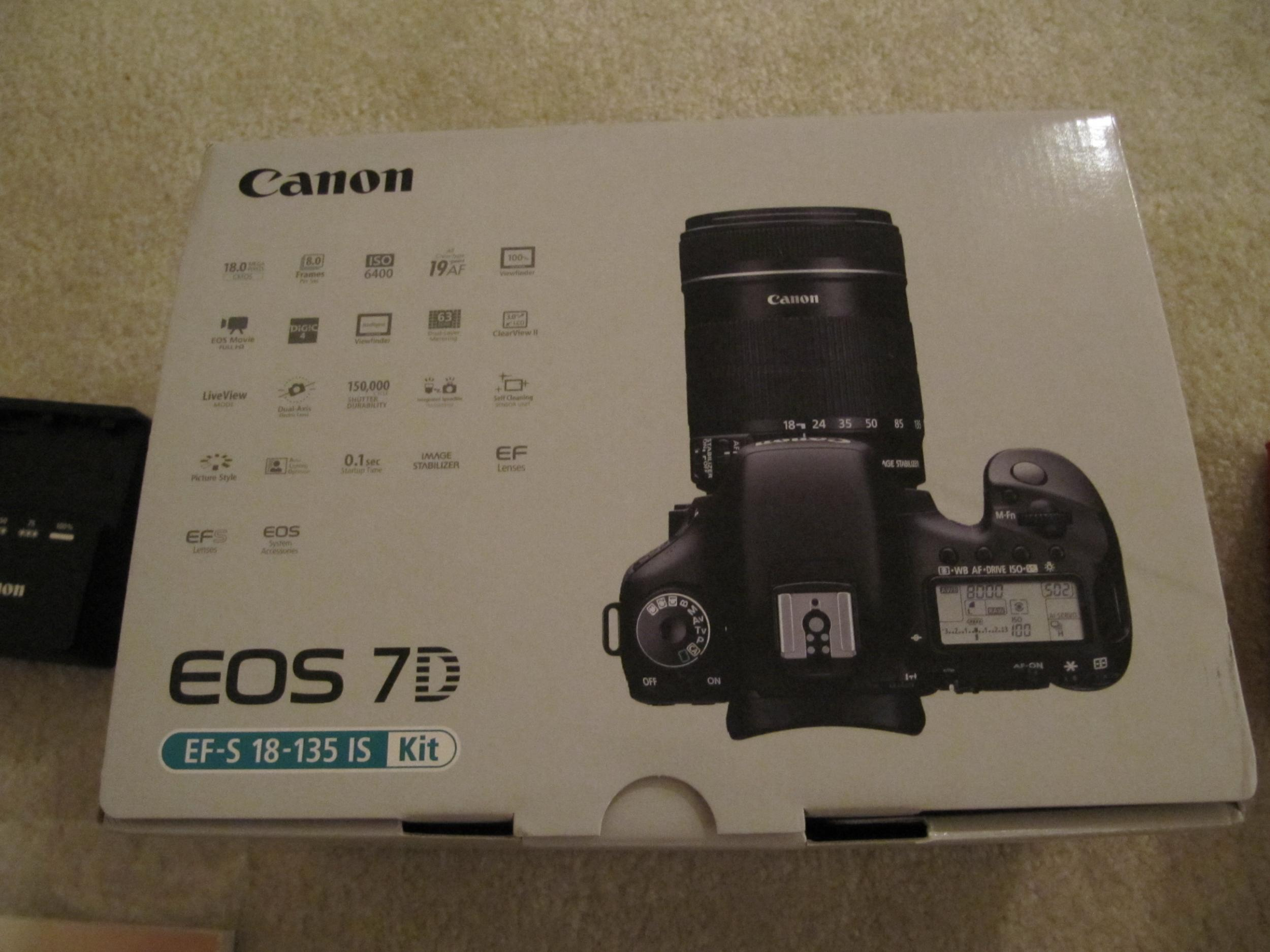 Eos 7d Operators Manual Body Only Box Check Images At Canon 760d Camera Dslr 760 Bo Img 0469