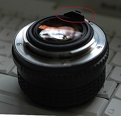 Fitting a SMC Pentax 1.4 50mm to a 7D-pentax-k-mount-scratching.jpg