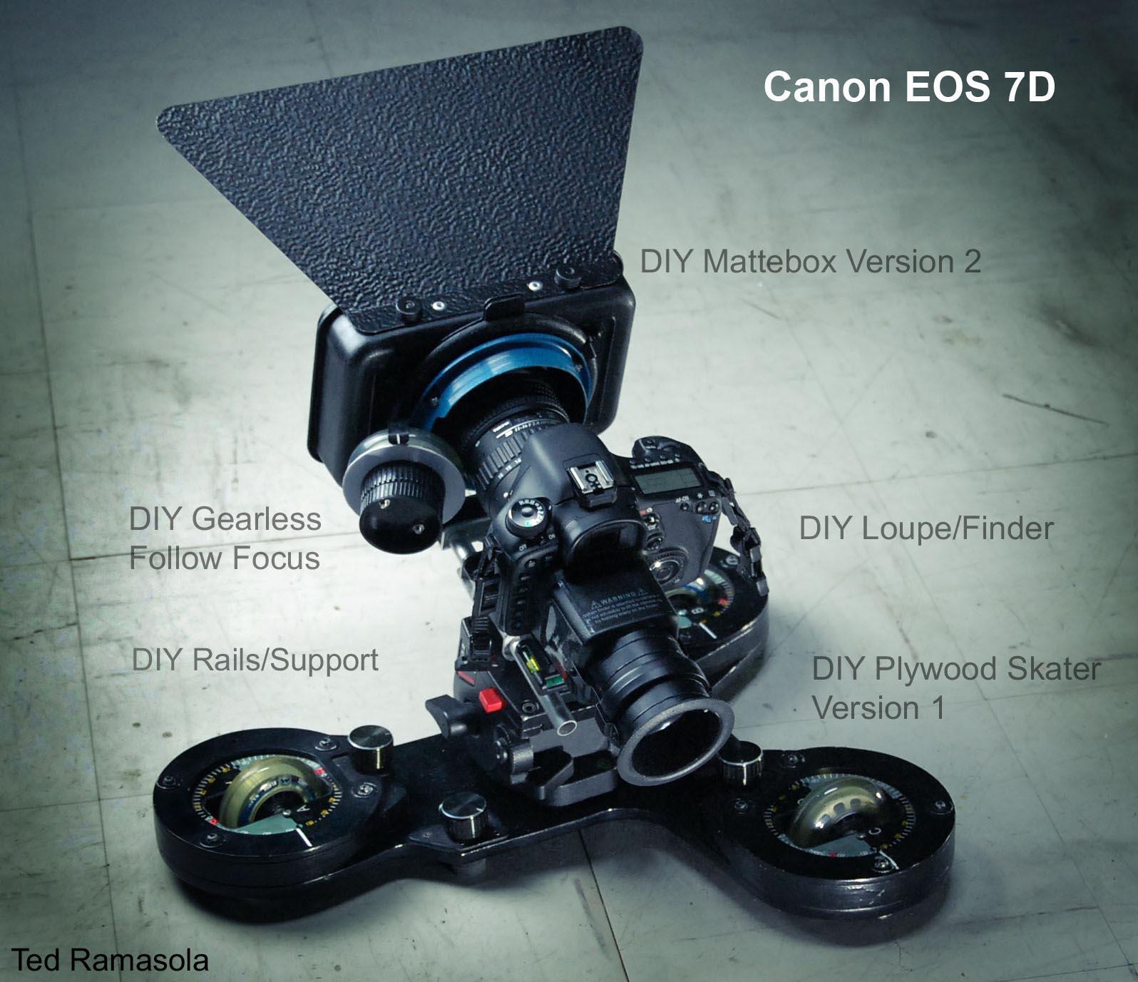 Diy Dslr Camera Rig: Canon 7D *Official* DSLR Rigs & Discussion ~Post Your Pics