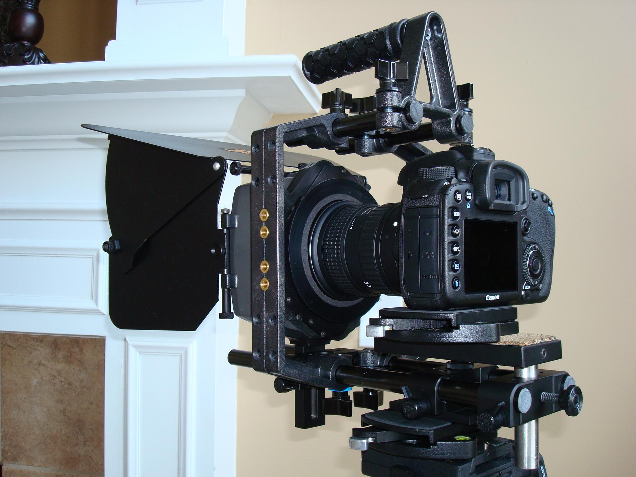 Camera Camera Dslr Rig cinevate dslr rig at dvinfo net dsc01174 jpg