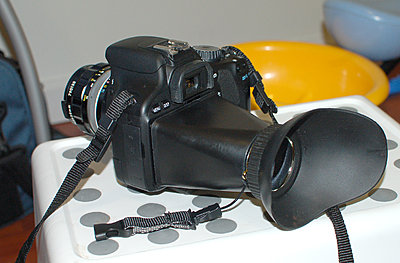 Low cost viewfinder/Loupe! Just got one Heads up...-mounted.jpg