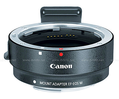 Canon USA Announces EOS M Mirrorless APS-C Camera-eosm-adapter-obli.jpg