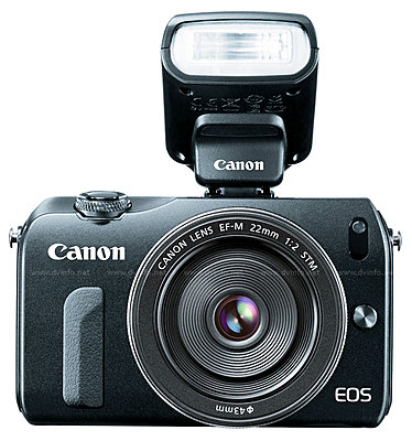 Canon USA Announces EOS M Mirrorless APS-C Camera-eosm-bodyflash.jpg