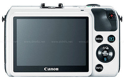 Canon USA Announces EOS M Mirrorless APS-C Camera-eosm-back-white.jpg
