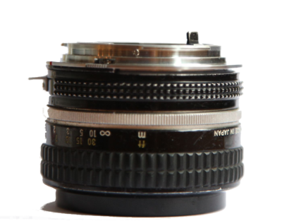 Will this non-Ai Nikon lens will work with the Canon 5dmk2?-lens-side-view.png