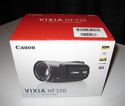 Canon VIXIA HF S10 / HF S100 box check images-hfs10a.jpg