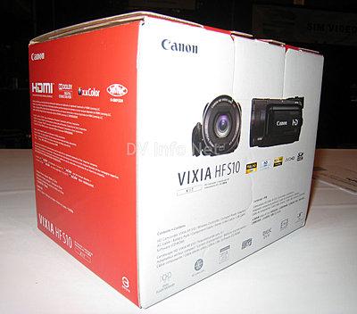 Canon VIXIA HF S10 / HF S100 box check images-hfs10b.jpg