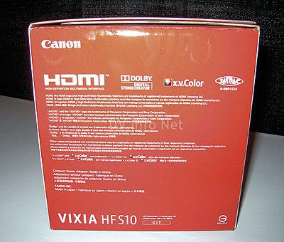 Canon VIXIA HF S10 / HF S100 box check images-hfs10d.jpg