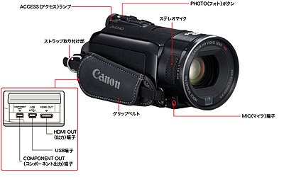 Canon Japan announces  iVIS HF S11, HF21-hfs11left.jpg
