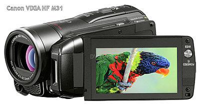 Canon USA Introduces New VIXIA Lineup-cvixhfm31a.jpg
