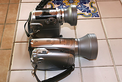 HV-20 and HV-10,  size compared-img_2919-copy.jpg