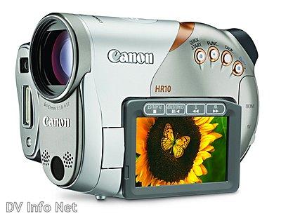 AVCHD from Canon: HR10 camcorder announced-hr10d.jpg