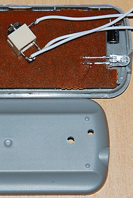 """How to make a """"real"""" HV20 wired Lanc....-2.-connector-led-holes.jpg"""