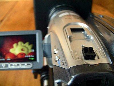 HV20 lcd flip hack for the 35mm DOF adapters at DVinfo.net