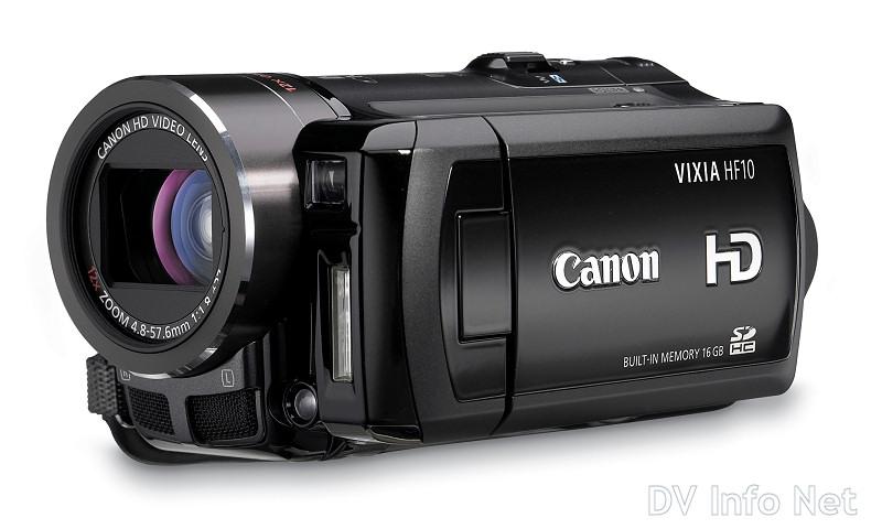 canon vixia hf10 and hf100 flash memory hd cams at dvinfo net rh dvinfo net VIXIA HF M31 vixia hf s100 manual