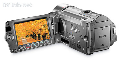Canon VIXIA HF10 and HF100 flash memory HD cams-hf100revobopen.jpg