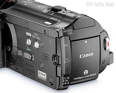 Canon VIXIA HF10 and HF100 flash memory HD cams-hf10details.jpg