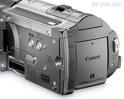 Canon VIXIA HF10 and HF100 flash memory HD cams-hf100details2.jpg