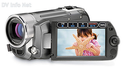 Canon VIXIA HF10 and HF100 flash memory HD cams-fs11obliqueopen.jpg