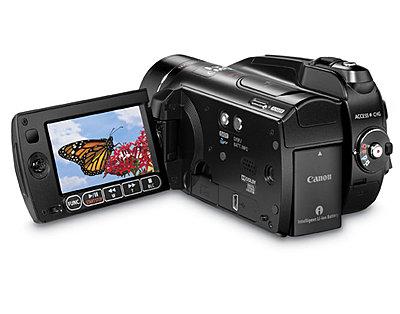 Press Release: Canon Introduces Three New VIXIA HD Camcorders-hg20b.jpg