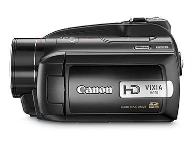 Press Release: Canon Introduces Three New VIXIA HD Camcorders-hg20c.jpg
