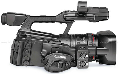 Press Release: Canon's New XF305 and XF300 Professional HD Camcorder-xf305rightprofile1200.jpg