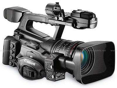 Press Release: Canon's New XF305 and XF300 Professional HD Camcorder-xf305rightob1200.jpg