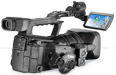 Press Release: Canon's New XF305 and XF300 Professional HD Camcorder-xf300backob1200.jpg