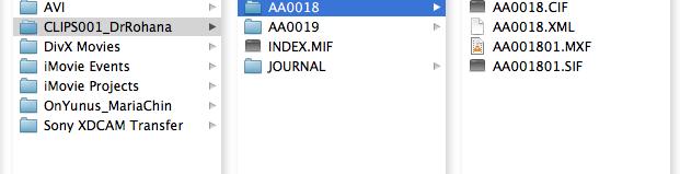 encoding  mxf to  mov with XDCam transfer at DVinfo net