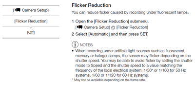 How to lock exposure on XF300 - Newbie questions-xf300-flicker-reduction.png
