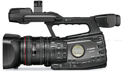 Press Release: Canon's New XF305 and XF300 Professional HD Camcorder-xfprofileleft1200.jpg