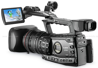 Press Release: Canon's New XF305 and XF300 Professional HD Camcorder-xflcdopen1200.jpg
